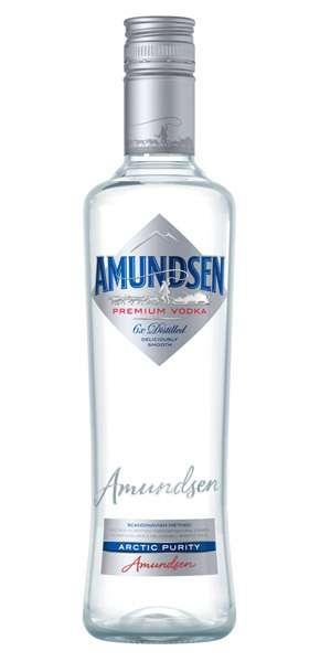 Zvětšit fotografii - Amundsen vodka 1L 40% A - Stock - Božkov