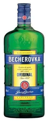 Zvětšit fotografii - Becherovka 0.5L 38% A - J.Becher