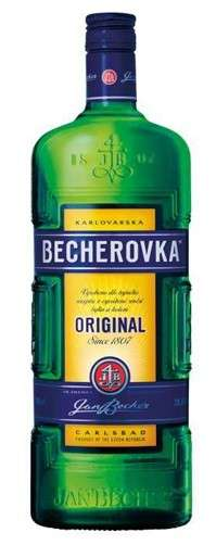 Zvětšit fotografii - Becherovka 1L 38% A - J.Becher