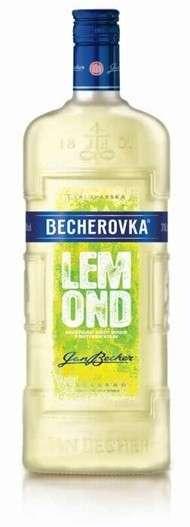 Zvětšit fotografii - Becherovka Lemond 1L 20% A - J.Becher