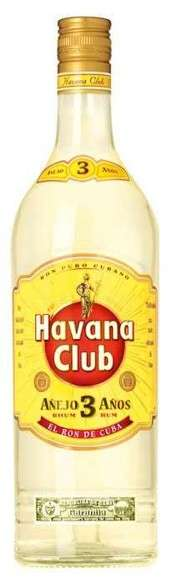 Zvětšit fotografii - Havana Club Añejo 3 Años 1L 40% A - J.Becher