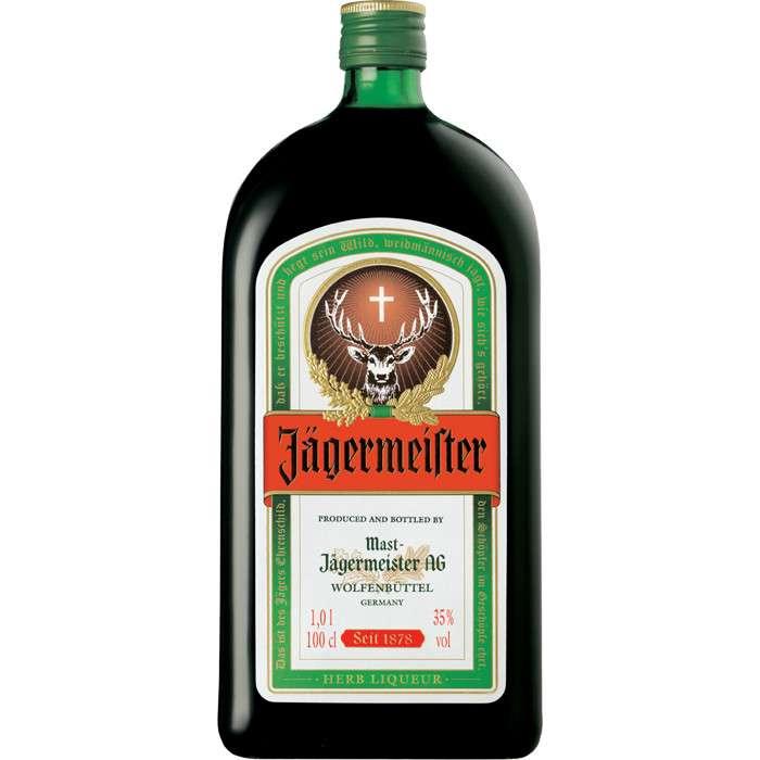 Zvětšit fotografii - Jagermeister 1L 35% A - Remy Cointreau