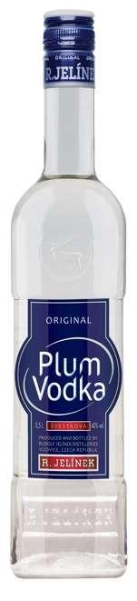 Zvětšit fotografii - Plum vodka 0,5L 40% RJ A - R.Jelínek