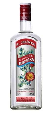 Zvětšit fotografii - Slovácká Borovička 0,7L 45% RJ A - R.Jelínek