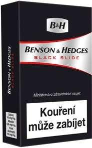 Zvětšit fotografii - Benson & Hedges Black Cigarety