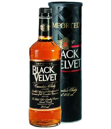 Zvětšit fotografii - Black Velvet whisky 0,7L 40% A - Global Spirits