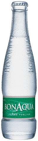 Zvětšit fotografii - Bonaqua jemně perlivá 0,25L sklo N - Coca cola