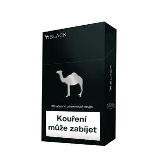 Zvětšit fotografii - Camel Black Cigarety