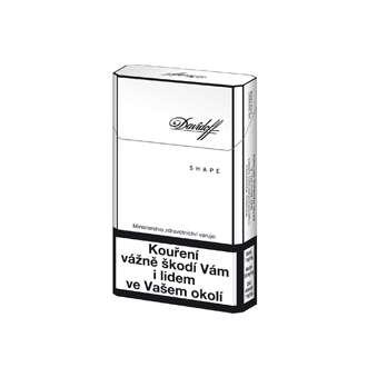 Zvětšit fotografii - Davidoff Shape White Cigarety