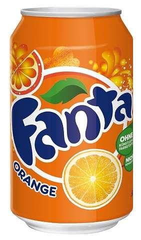 Zvětšit fotografii - Fanta 0,33L plech N - Coca cola