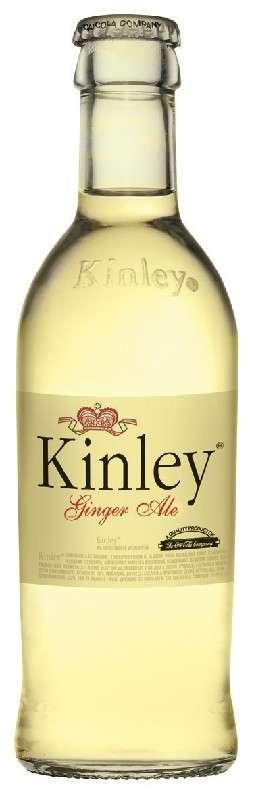 Zvětšit fotografii - Kinley Ginger tonic 0,25L sklo N - Coca cola