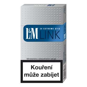 Zvětšit fotografii - L&M LINK slim blue / LM Cigarety