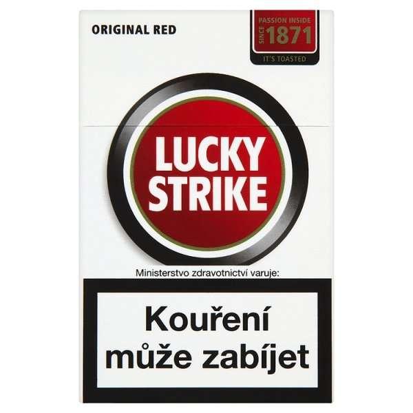 Zvětšit fotografii - Lucky Strike Red Cigarety