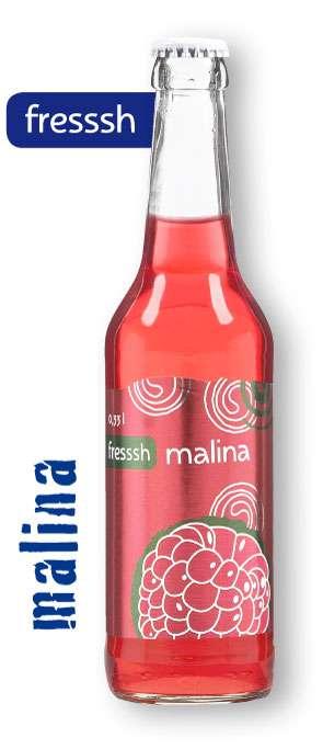 Zvětšit fotografii - Fressh Malina 0,33L sklo N - Nikol limo