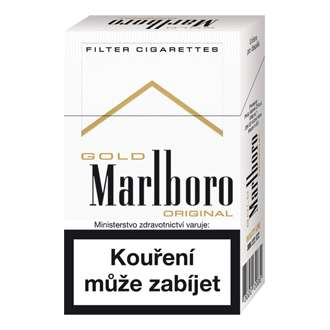 Zvětšit fotografii - Marlboro KS gold Cigarety