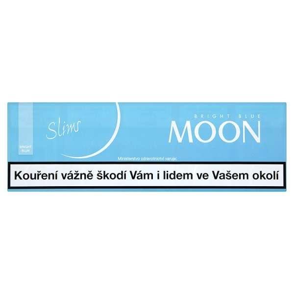 Zvětšit fotografii - Moon Bright Blue SLIM Line Cigarety