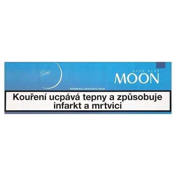 Zvětšit fotografii - Moon Dark Blue SLIM Line Cigarety