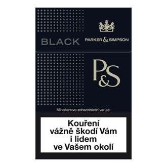 Zvětšit fotografii - P&S Black Cigarety