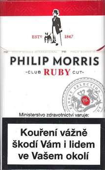 Zvětšit fotografii - Philip Morris KS Ruby Cigarety