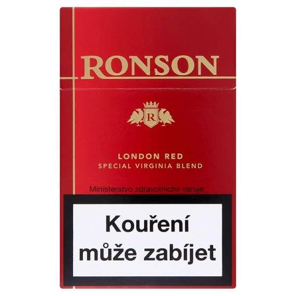 Zvětšit fotografii - Red KS Winston Cigarety