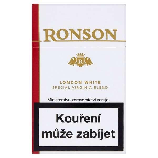 Zvětšit fotografii - White KS Winston Cigarety