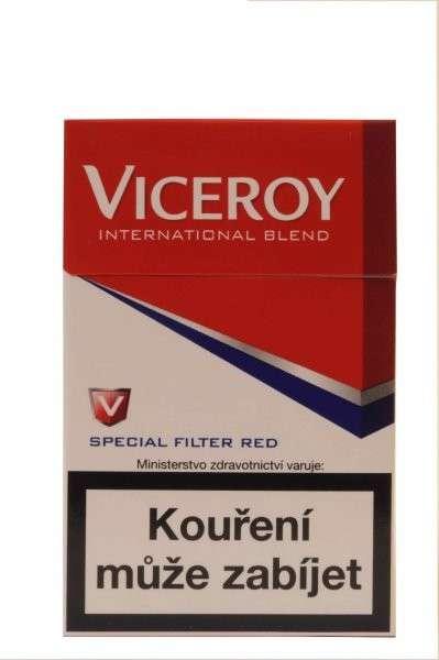 Zvětšit fotografii - Viceroy KS Červená Cigarety