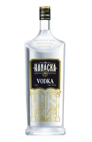 Zvětšit fotografii - Vodka Hanácká 1L 37,5% A - Granette /Starorežná