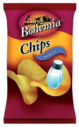 Zvětšit fotografii - Bohemia Chips - Solené 77g
