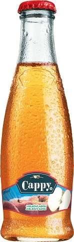Zvětšit fotografii - Cappy Jablko 0,2L sklo N - Coca cola