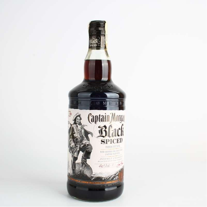 Zvětšit fotografii - Captain Morgan Black Spiced 1L 40% A - Global Spirits