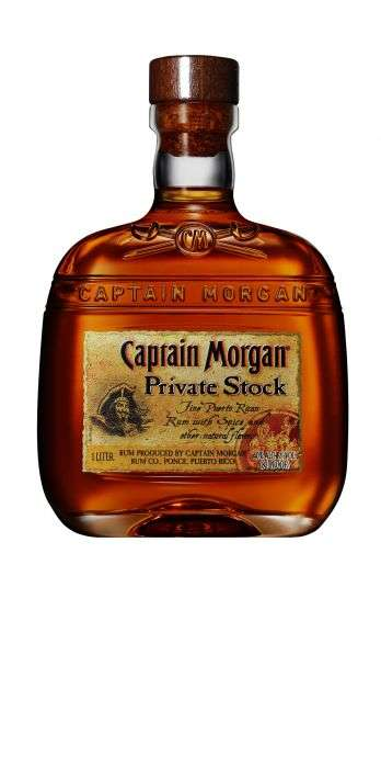 Zvětšit fotografii - Captain Morgan Private 1L 40% A - Global Spirits