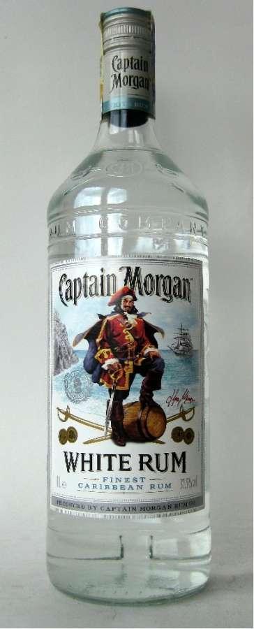 Zvětšit fotografii - Captain Morgan White 1L 35% A - Global Spirits