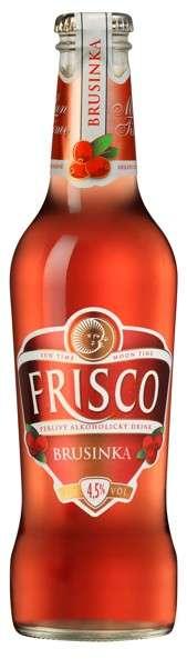 Zvětšit fotografii - FRISCO BRUSINKA, 0.33L / lahev 6ks C&C Karvina
