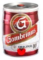 Zvětšit fotografii - Gambrinus 10° Original  5L / Soudek Plech