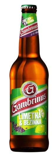 Zvětšit fotografii - Gambrinus Limetka & Bezinka 0.5L / lahev C&C Karvina
