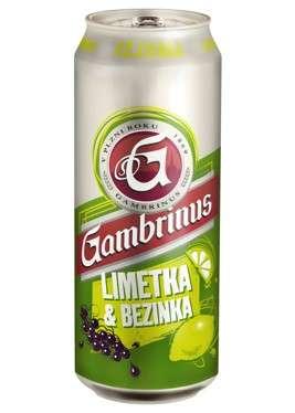 Zvětšit fotografii - Gambrinus Limetka & Bezinka 0.5L / Plech C&C Karvina
