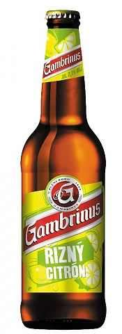Zvětšit fotografii - Gambrinus Řízný Citron 0.5L / lahev C&C Karvina