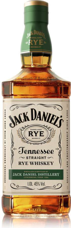 Zvětšit fotografii - Jack Daniel´s Rze 1L 45% A - Brown Forman