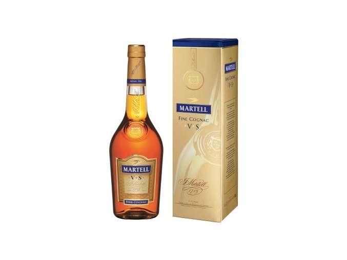 Zvětšit fotografii - Martell VS 0.7L 40% Cognac A - J.Becher