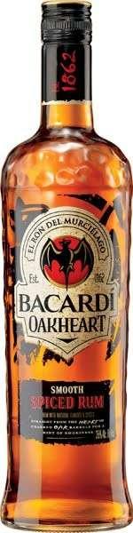 Zvětšit fotografii - Rum Bacardi OakHeart 1l 35% A - Brown Forman