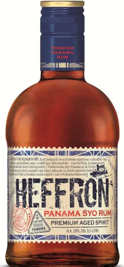 Zvětšit fotografii - Rum Heffron 0.5l 38% A - Ostatni