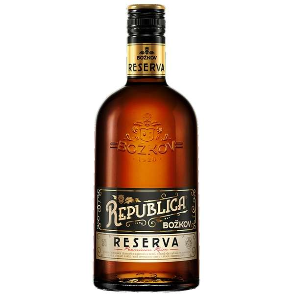 Zvětšit fotografii - Rum Republica Reserva 0.7l 38% A - Stock - Božkov