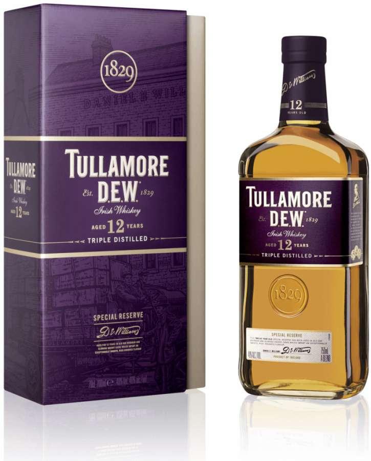 Zvětšit fotografii - Tullamore Dew 12Y 0,7L 40% A - Stock - Božkov