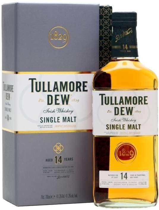 Zvětšit fotografii - Tullamore Dew 14Z SM 0,7L 40% A - Stock - Božkov
