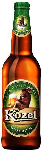 Zvětšit fotografii - Velkopopovický Kozel 11° Medium 0.5L / lahev C&C Karvina