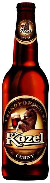 Zvětšit fotografii - Velkopopovický Kozel Černý 0.5L / lahev C&C Karvina