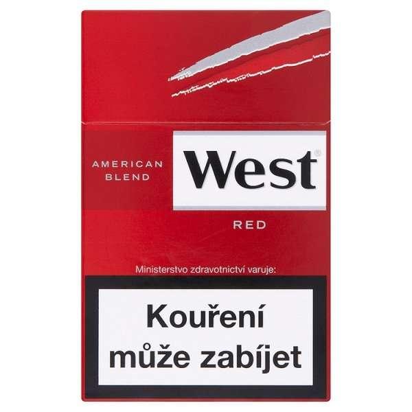 Zvětšit fotografii - West Red Cigarety