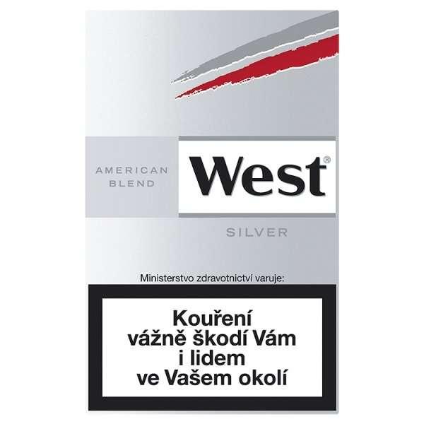 Zvětšit fotografii - West Silver Cigarety