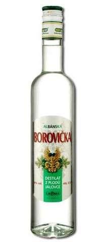 Zvětšit fotografii - Albánská Borovička 0,5L 38% - Herba A - Herba alko