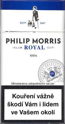 Zvětšit fotografii - Philip Morris 100 Royal Cigarety